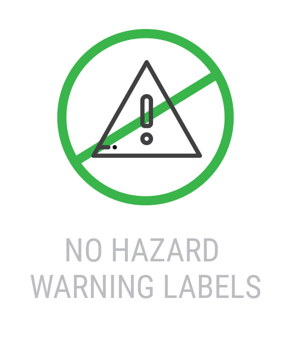 Latex Ink - No Hazard Warning Labels