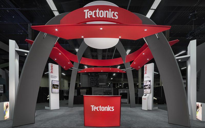 Tectonics Exhibit Exhibitor Show 2017, Las Vegas Tectonics