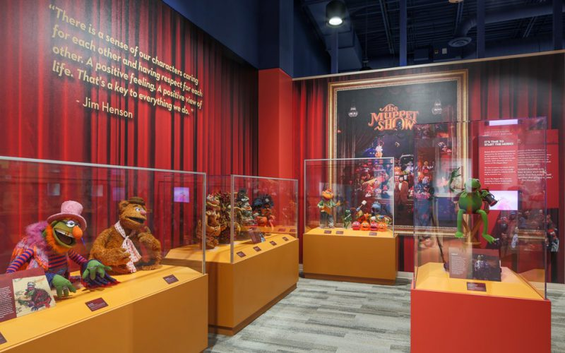 Pictures from Thinkwell of our recent project at the Center for Puppetry Arts in Atlanta.