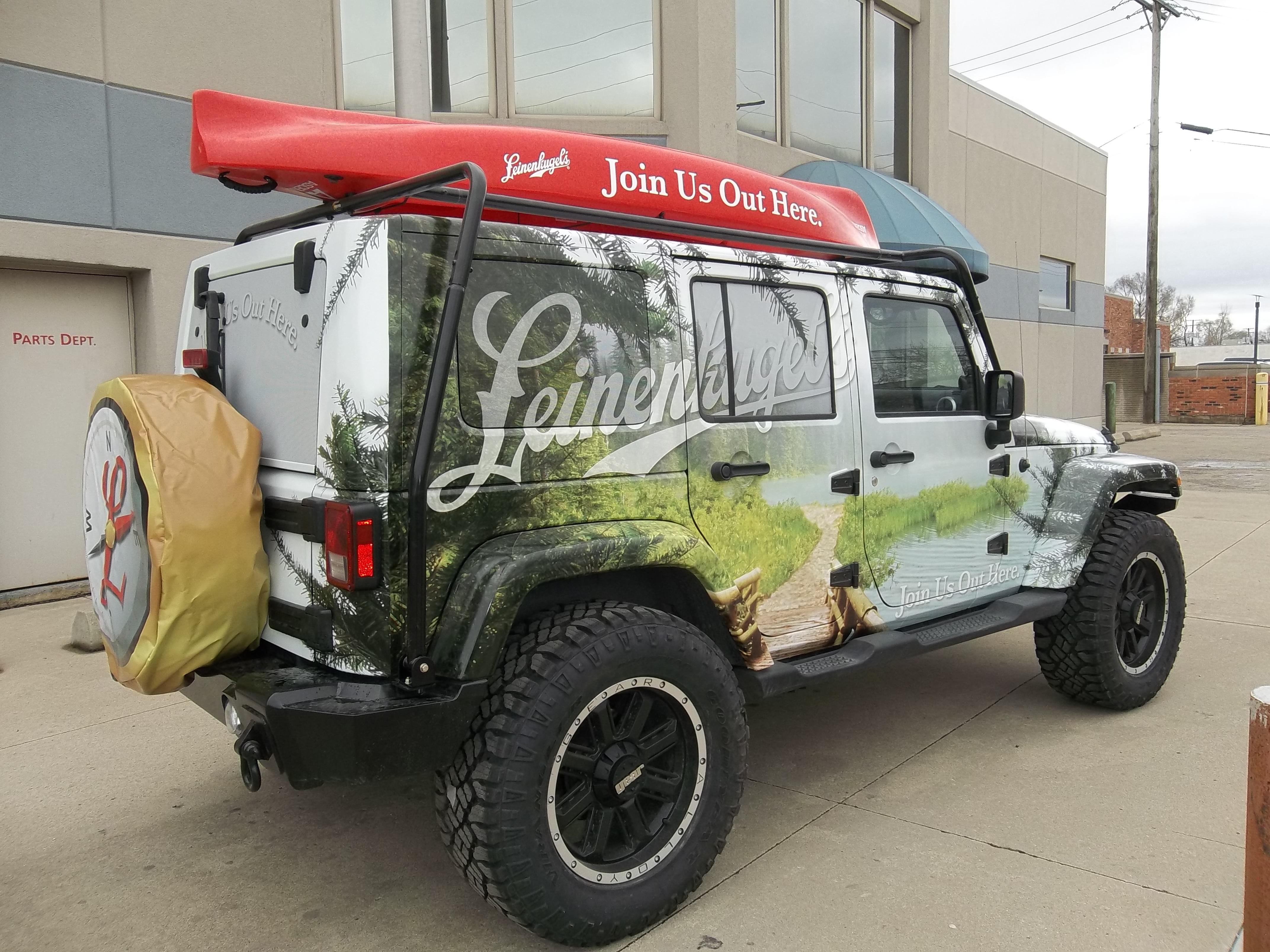 Jeep Vehicle Vinyl Wrap